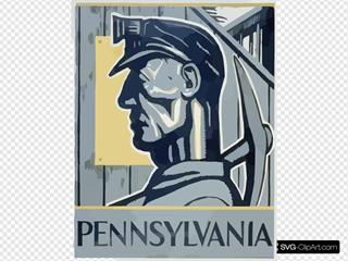 Pennsylvania Worker Blue Collar