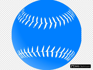 Blue Softball
