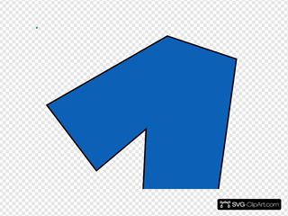 Number One (hawk Blue) Clipart