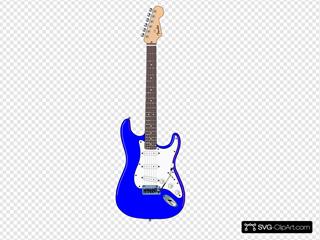 Electric Blue Guitar