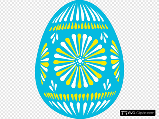 Easter Egg Blue