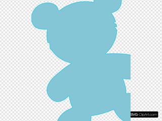 Baby Blue Teddy