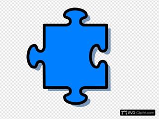 Light Blue Jigsaw
