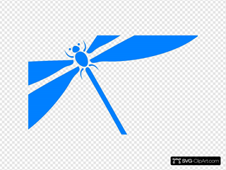 Dragonfly In Flight Clipart
