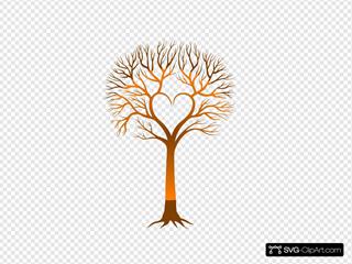 Brown Heart Tree