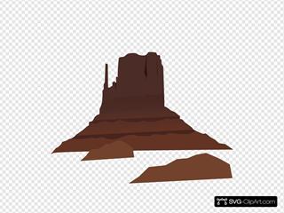 Land SVG Clipart