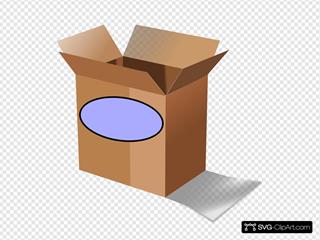 Brown Date Box