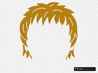 Hair  SVG Clipart