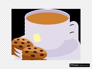Cup Tea Cookies