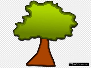 Cartoonish Tree