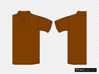 Polo Shirt Brown