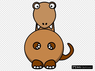Brown Dinosaur