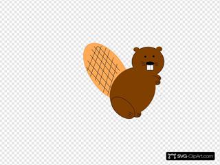 Beaver Standing