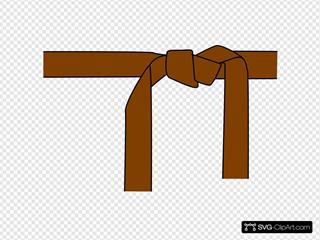Karate Belt Brown
