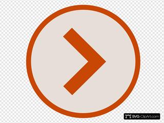 Icon Next Orange Brown