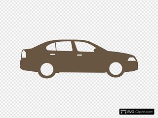 Brown Car