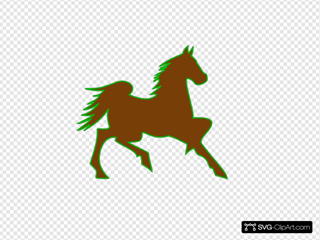 Fire Horse Green