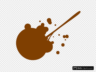 Brown Splatter