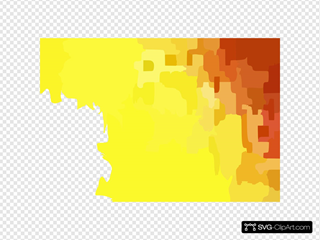 Yellow Brown Pixel Art