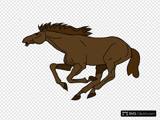 Fast Brown Horse