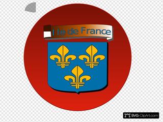Ile De France SVG Clipart