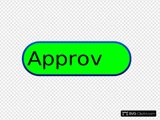 Approved Green Button