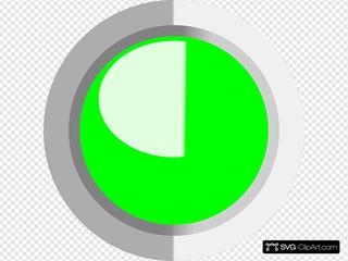 Green Circle Button