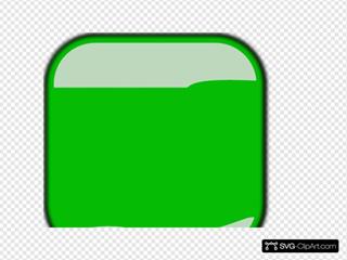 Green Square Button