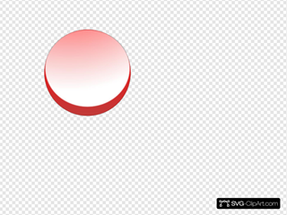 Round Red Button