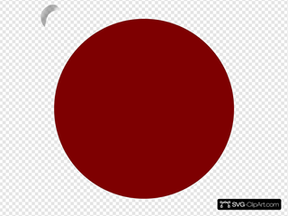 Red General Button Clipart