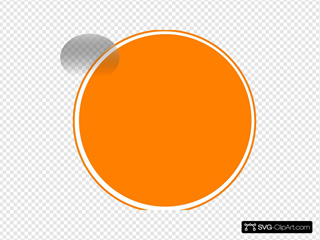 Glossy Orange Button