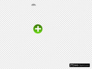 Medical Cross Button