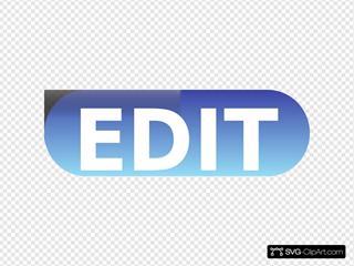 Edit Button Blue