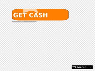 Orange Cash Button5