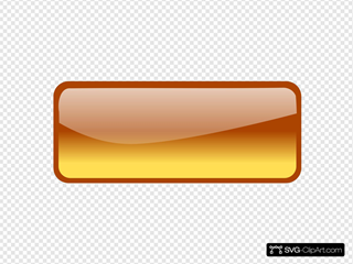 Orange Rectangle Button 2 Clipart