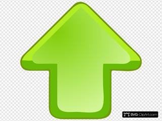Up Arrow Green