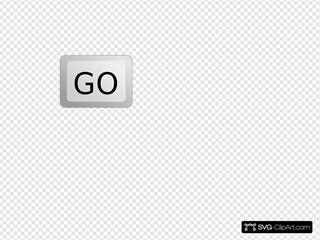 Go Button Keyboard Verdana