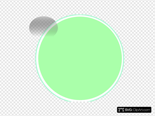 Glossy Lime Button
