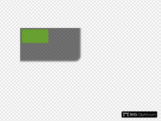 Green Next Page Button Clipart