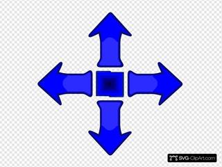 Game Controller Arrow Set Smooth