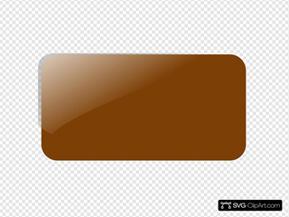 Brown Rectangle Button Panel