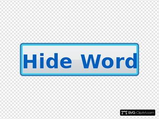 Hide Word Button