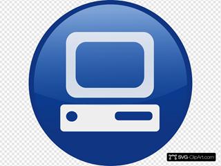 Blue Computer Desktop