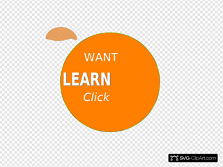 Learn More Button SVG Clipart