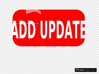Button Red Add Update