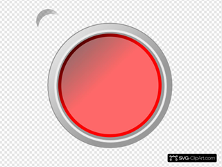 Push Button Glossy Red