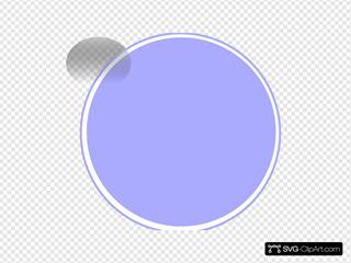 Glossy Purple Light 2 Button