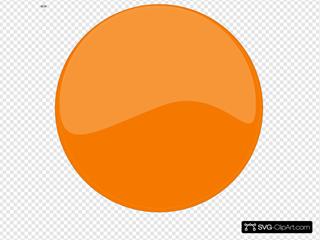 Ps Button Orange