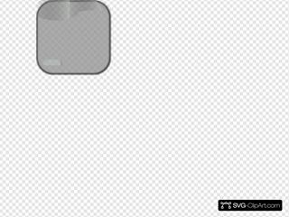 Gray Add Update Square Button