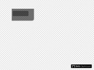 Gray Login Thin Button